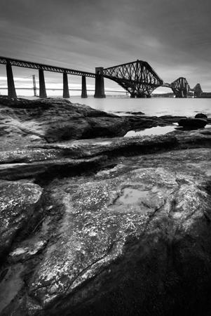 Forth rail bridge photograph